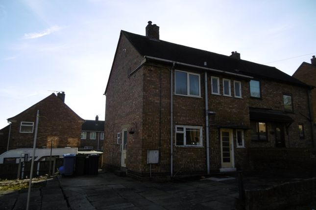 Thumbnail Semi-detached house for sale in 3 Smith Crescent, Chesterfield, Derbyshire