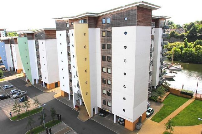 Thumbnail Flat to rent in Watkiss Way, Cardiff Bay, Cardiff