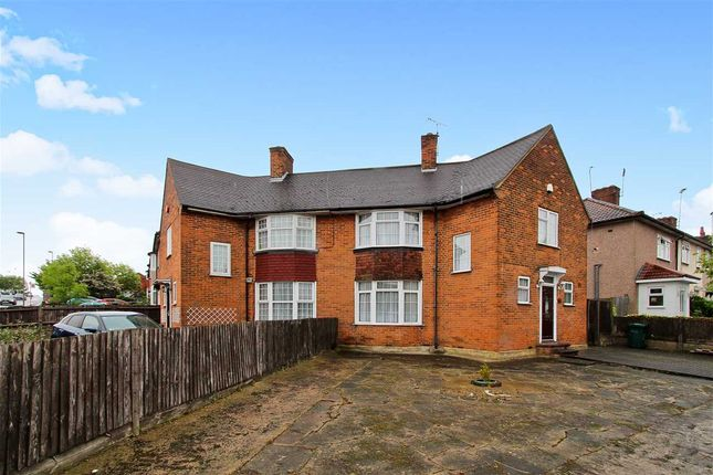 Thumbnail Semi-detached house for sale in Littlefield Road, Burnt Oak, Edgware