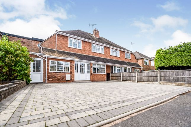 Thumbnail Semi-detached house for sale in Willow Road, Shirley, Solihull