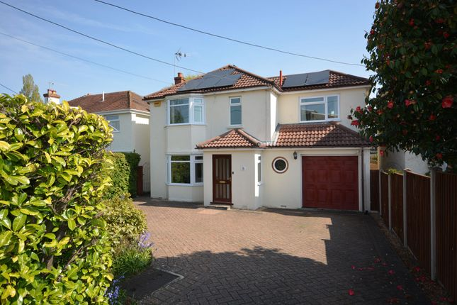 Thumbnail Detached house for sale in Grange Road, Broadstone
