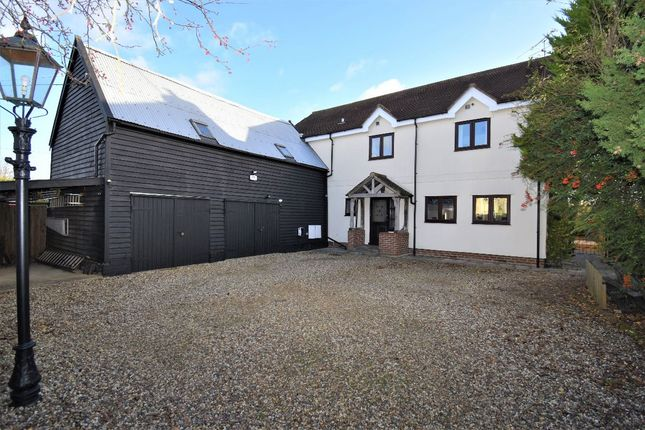 Detached house for sale in Old Barn House, Dash End, Kedington