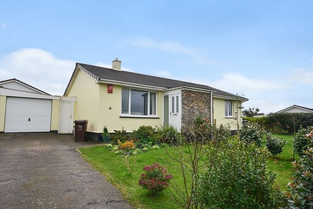 Thumbnail Detached bungalow for sale in Lower Polstain Road, Threemilestone, Truro
