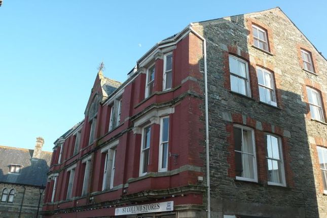 Thumbnail Flat to rent in Market Place, St. Columb