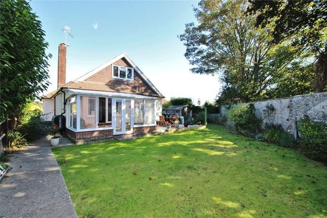 Thumbnail Detached bungalow for sale in Hall Close, Offington, Worthing