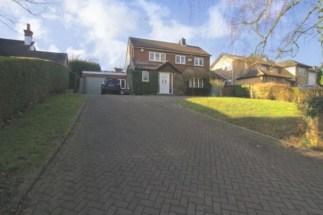 Thumbnail Detached house to rent in New Road, Digswell, Welwyn