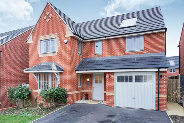 Thumbnail Detached house for sale in Falcon Road, Priors Hall Park, Corby