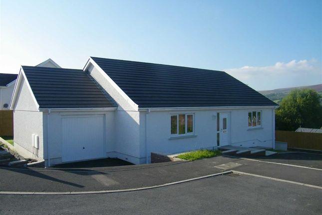 Thumbnail Detached bungalow for sale in Clos Bryncam, Garnant, Ammanford