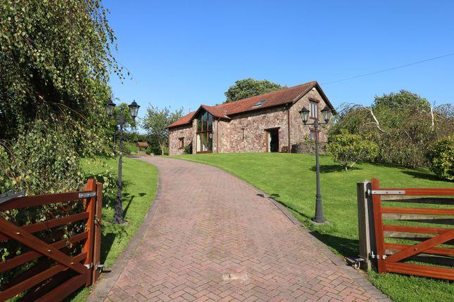 Thumbnail Barn conversion for sale in Llansoar, Caerleon, Newport