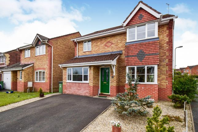 Thumbnail Detached house for sale in Cae Nant Goch, Caerphilly