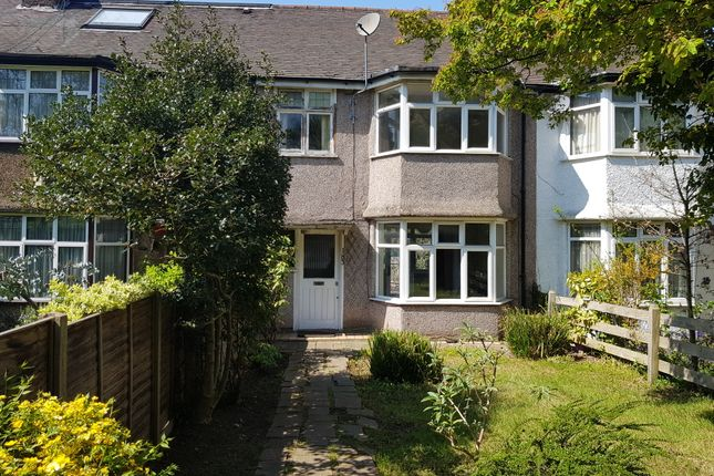 Thumbnail Terraced house to rent in Watford Way, Hendon