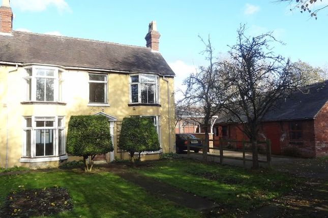 Thumbnail Farmhouse for sale in Noahs Ark Farm, By Pass Road, Uttoxeter