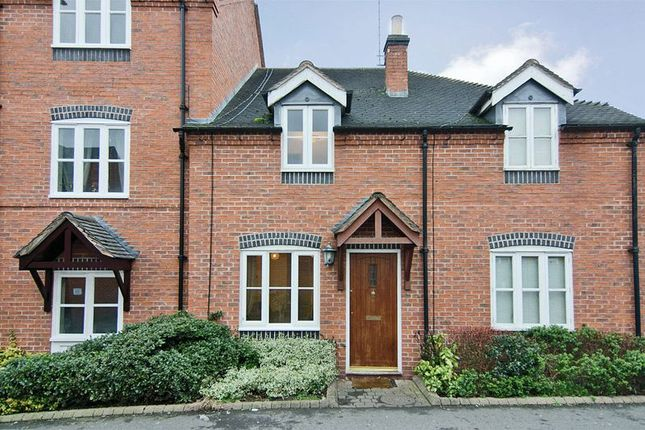 Thumbnail Terraced house to rent in Greenhill Mews, Lichfield