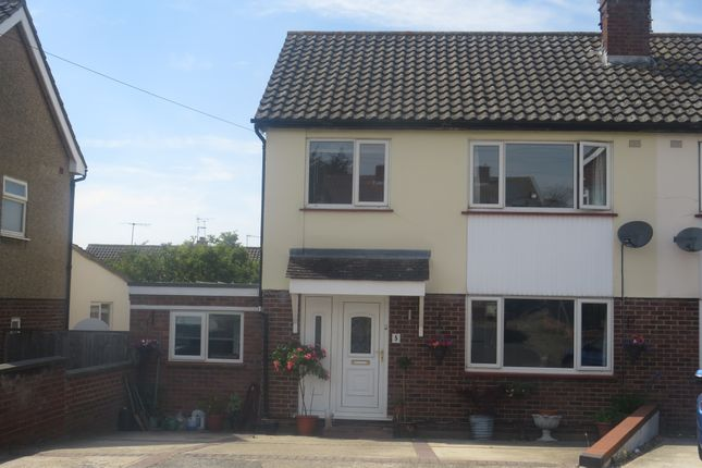 Thumbnail Semi-detached house for sale in Grenfell Close, Colchester
