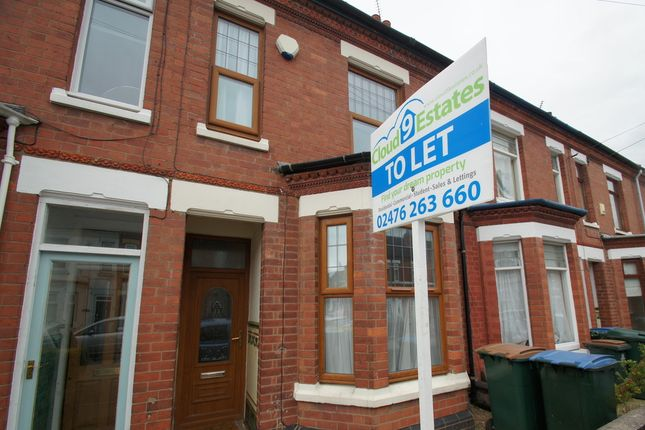 Thumbnail Terraced house to rent in St Osburgs Road, Coventry