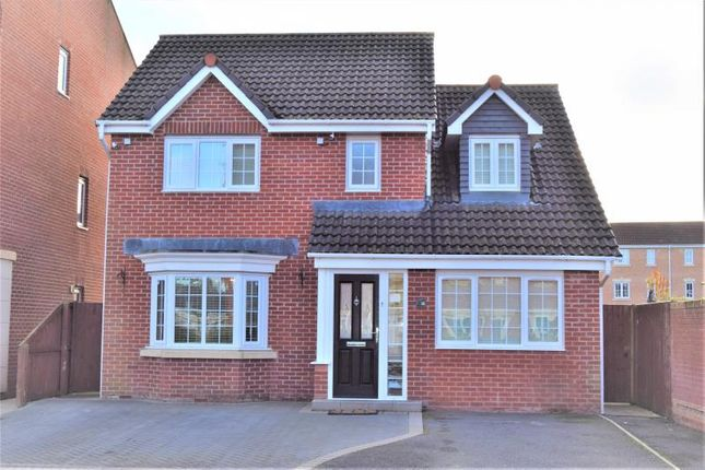 Thumbnail Detached house for sale in Lowry Gardens, Lowry Hill, Carlisle, Cumbria