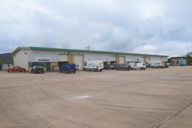 Thumbnail Light industrial to let in Millennium Way, Newcastle Under Lyme
