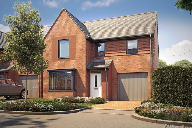 "Thumbnail Detached house for sale in ""Millford"" at Langaton Lane, Pinhoe, Exeter"
