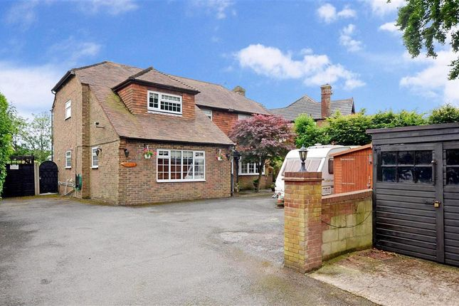 Thumbnail Detached house for sale in Findon By Pass, Findon, Worthing, West Sussex