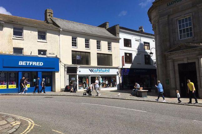 Thumbnail Retail premises to let in Upper Floor, 32, Market Place, Penzance