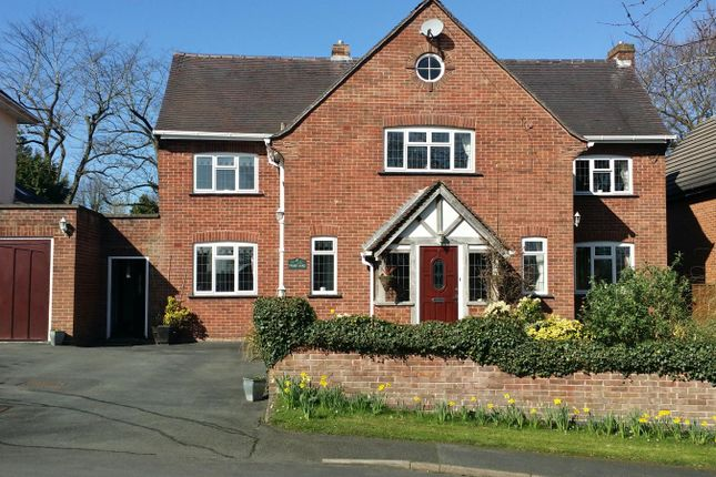 Thumbnail Detached house for sale in Fayre Oaks Green, Hereford
