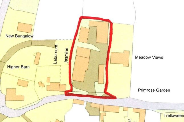 Thumbnail Land for sale in St. Kew, Bodmin