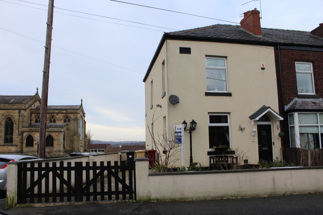 Thumbnail Terraced house for sale in Church Road, Kearsley