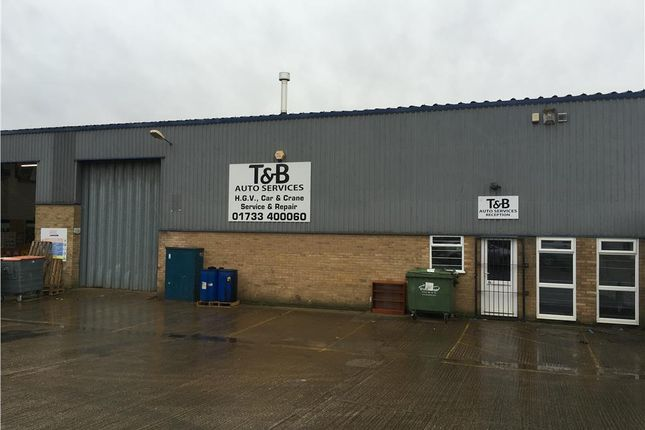 Thumbnail Light industrial to let in Roundhouse Close, Padholme Road East, Peterborough