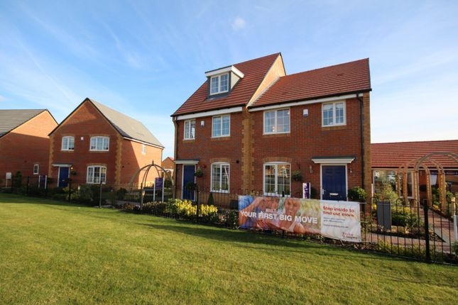 Thumbnail Semi-detached house for sale in Brunel Rise, Didcot