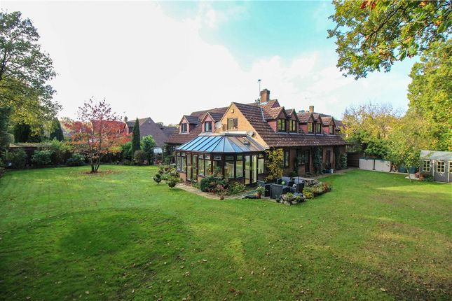 Thumbnail Detached house for sale in Orchard End, Rowledge, Farnham, Surrey