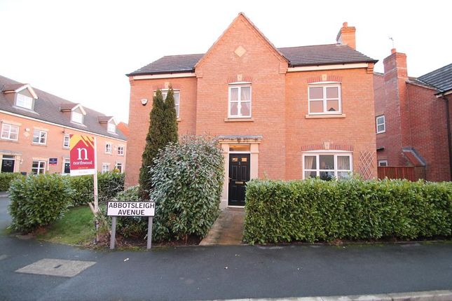 Thumbnail Detached house for sale in Abbotsleigh Avenue, Manchester