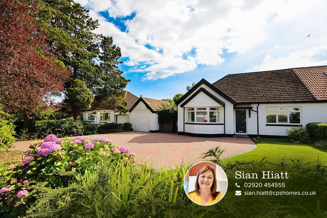 Thumbnail Bungalow for sale in Heath Park Avenue, Heath, Cardiff