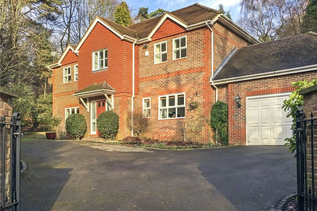 Thumbnail Detached house for sale in Crawley Wood Close, Camberley, Surrey