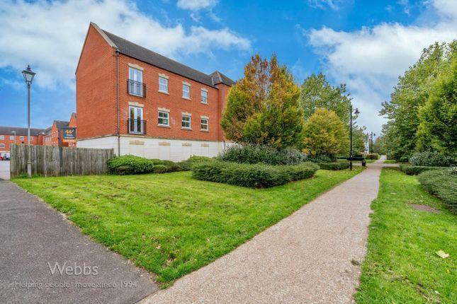 2 bed flat for sale in Thacker Drive, Lichfield WS13