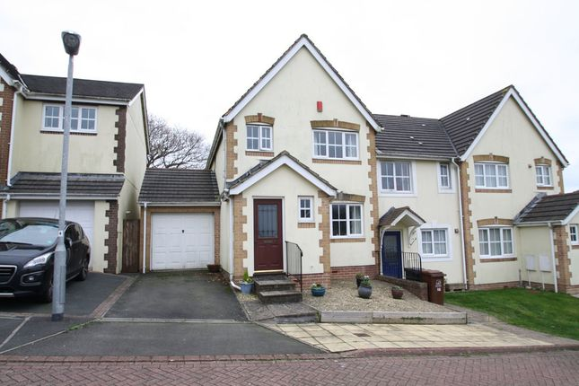 3 bed end terrace house for sale in Montgomery Close, Ivybridge, Devon, Plymouth