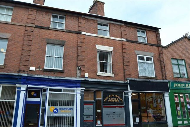 Thumbnail Maisonette to rent in Cawdry Buildings, Fountain Street, Leek