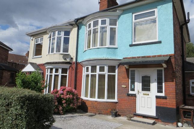Thumbnail Semi-detached house for sale in Dundee Street, Hull, East Yorkshire