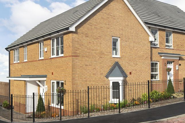 "Thumbnail Semi-detached house for sale in ""Amber"" at Captains Parade, East Cowes"