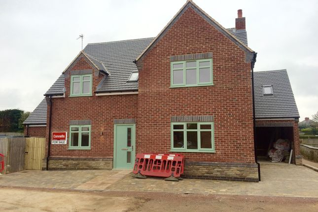 Thumbnail Detached house for sale in All Saints Close, Sapcote, Leicester