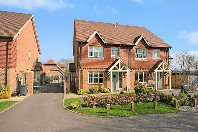 Thumbnail Semi-detached house for sale in Cemetery Lane, Kennington, Ashford