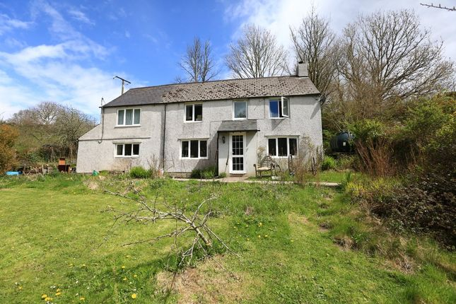 Thumbnail Farmhouse for sale in Wembury, Plymouth