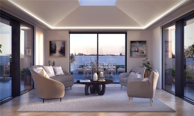 Garden Room of 50 Kensington Gardens Square, Bayswater W2