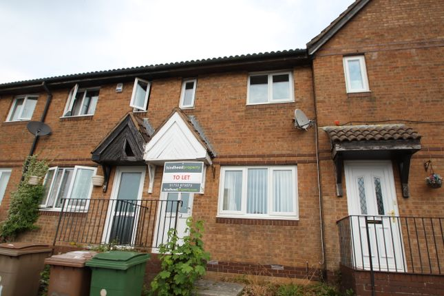 Thumbnail Terraced house to rent in Elder Close, Plympton, Plymouth