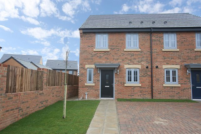 Thumbnail Semi-detached house for sale in Furrow Grange, Acklam, Middlesbrough