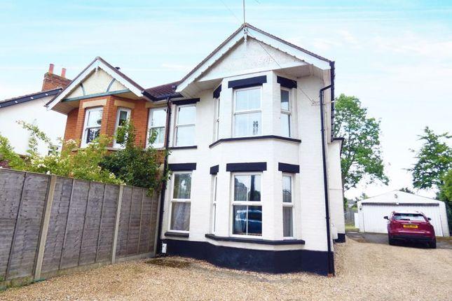 Thumbnail Flat to rent in Catisfield Road, Fareham
