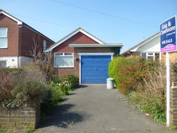 Thumbnail Bungalow for sale in Cavell Avenue North, Peacehaven, East Sussex