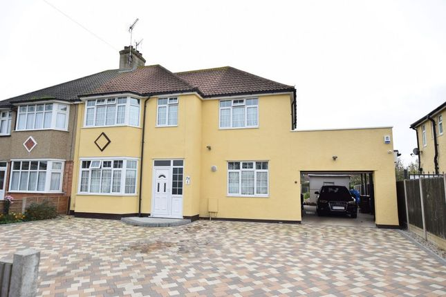 Thumbnail Semi-detached house for sale in Douglas Road, Clacton-On-Sea