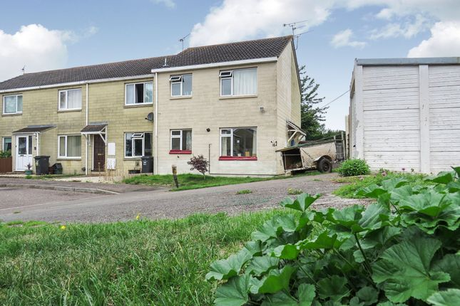 Thumbnail End terrace house for sale in Kilve Close, Taunton