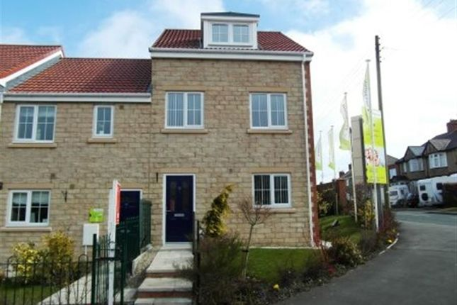 Thumbnail Town house to rent in Dorset Crescent, Consett