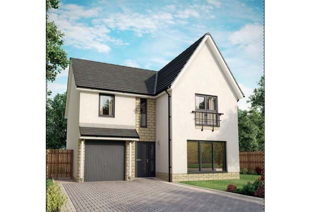 Thumbnail Detached house for sale in Colinhill Road, Strathaven, South Lanarkshire